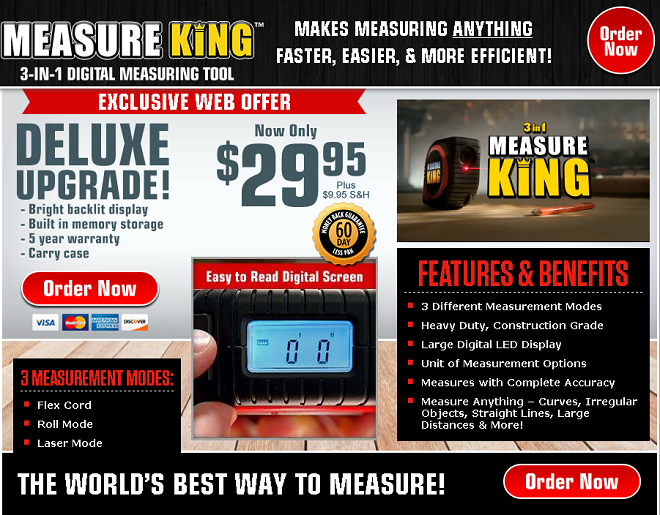 measure king review