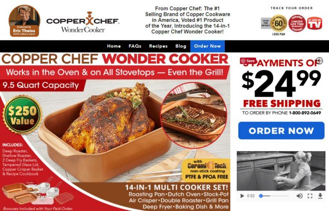 copper chef wonder cooker review